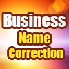 Business Name Correction