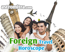 checking foreign travel in horoscope