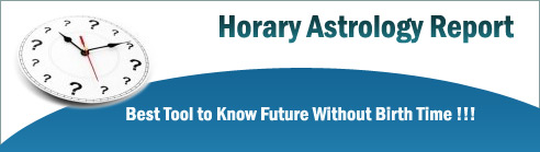 Get horary astrology (Prasna Jyotish) predictions for marriage, love, career, foreign traveling, Prasna horoscope for health, missing person, theft, thief astrology question by Best Prasna Astrologer in Inda